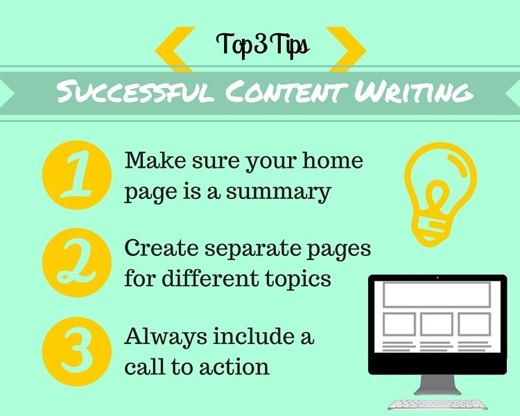 Top 3 Tips for Successful Content Writing