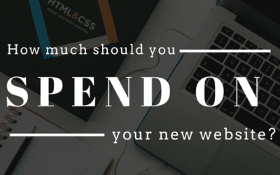 How much should you spend on your new website?