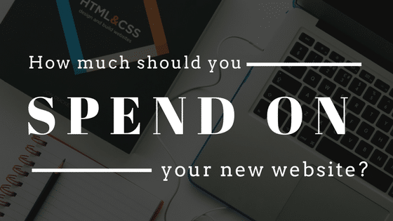 How much should you spend on your website?
