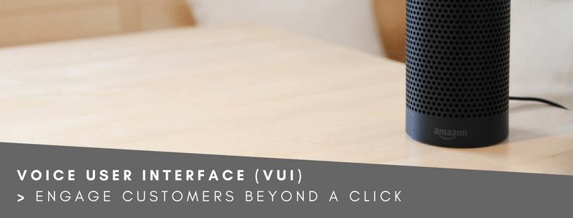 Web Design Trend Voice User Interface (VUI)