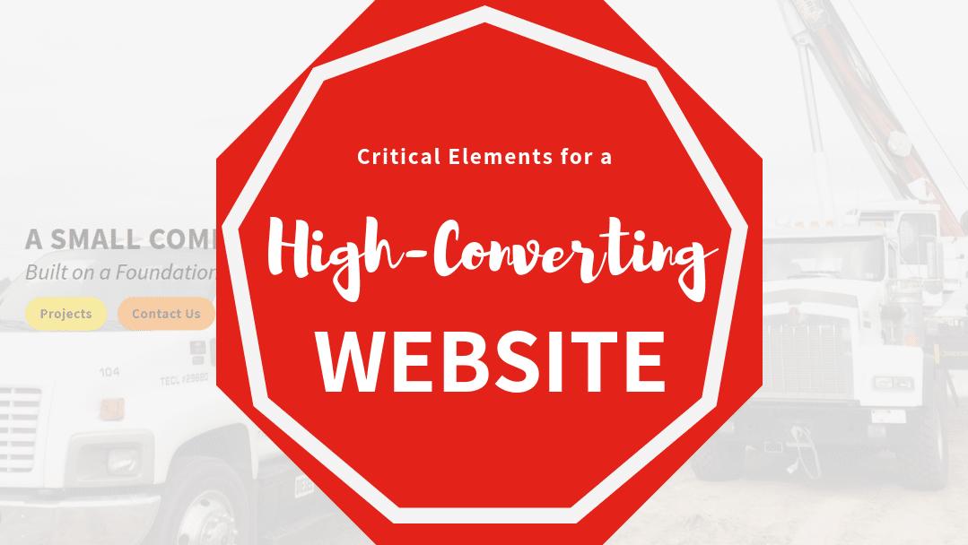 6 Critical Elements for a High-Converting B2B Website