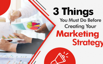3 Things You Must Do Before Creating Your Marketing Strategy